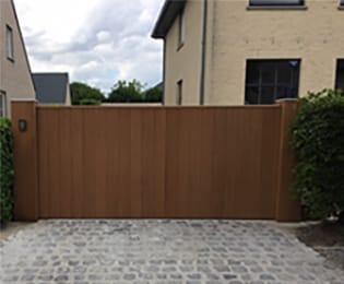 Portiq houten poorten